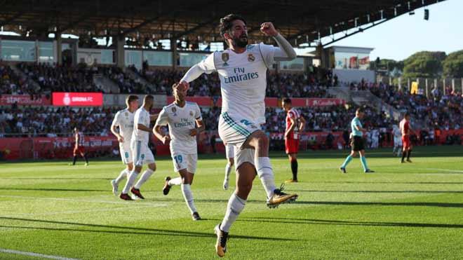 Video, kết quả bóng đá Girona - Real Madrid: May mắn và đòn phản công siêu hạng (Hiệp 1) - 1