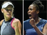 Chung kết WTA Finals: Ngôi số 1 bất khả xâm phạm, Venus đề cao Wozniacki
