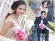 Bạn trẻ - Cuộc sống - Cô gái xinh đẹp lấy chồng ngồi xe lăn và ngày đưa dâu đẫm nước mắt