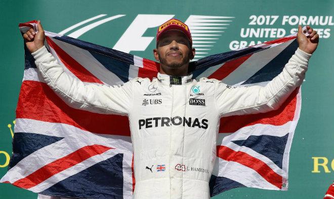"Bảng xếp hạng F1 - Mexican GP: Xin chào ""vua đua xe"" Hamilton 1"