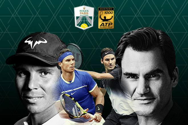 """Bảng xếp hạng tennis 30/10: Federer bỏ Paris, """"đầu hàng"""" số 1 Nadal 1"""