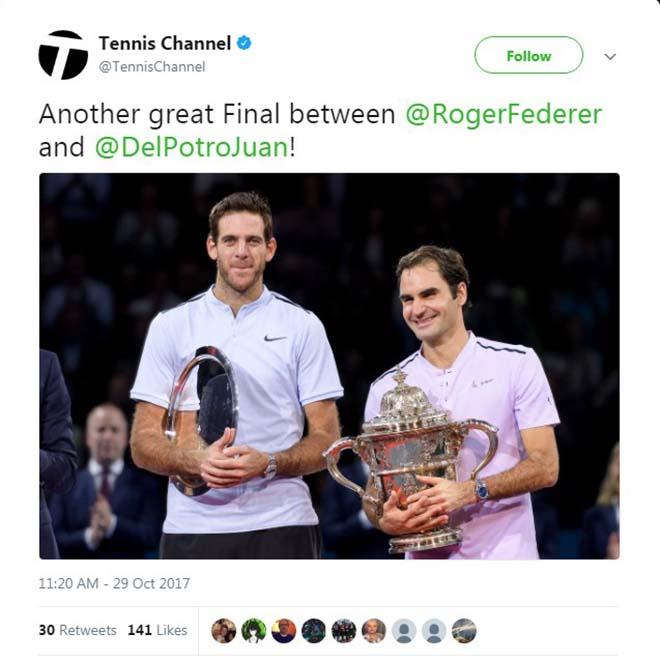 Federer 8 lần đăng quang Basel Open: Báo chí thế giới ngả mũ thán phục 6