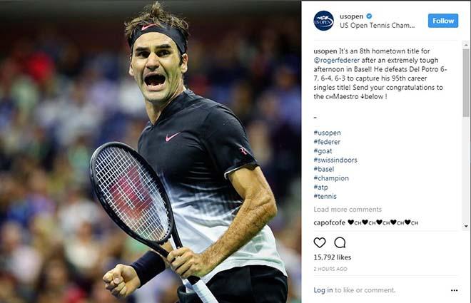 Federer 8 lần đăng quang Basel Open: Báo chí thế giới ngả mũ thán phục 9