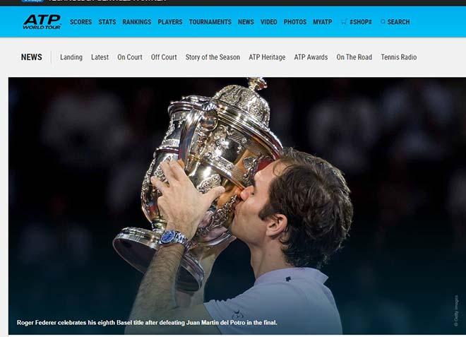 Federer 8 lần đăng quang Basel Open: Báo chí thế giới ngả mũ thán phục 3