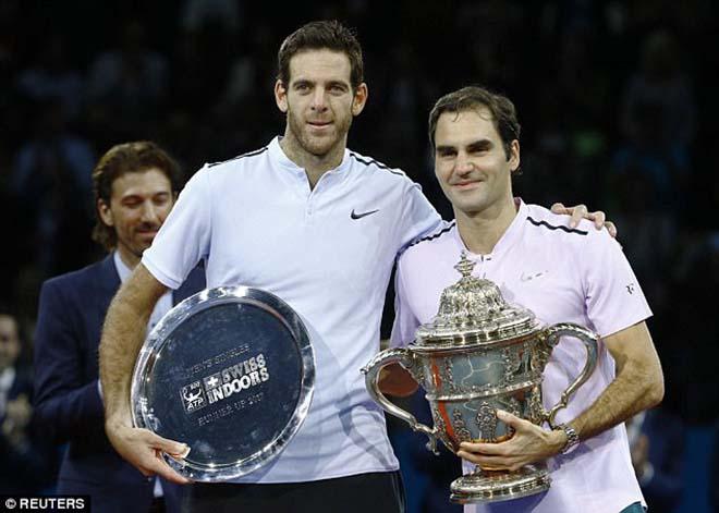 Federer ngạo nghễ đăng quang, Del Potro tâm phục khẩu phục 1