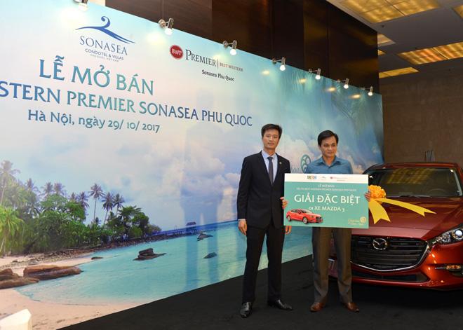 Mua condotel của Tập đoàn CEO, trúng xe Mazda 3 Sedan sành điệu - 1