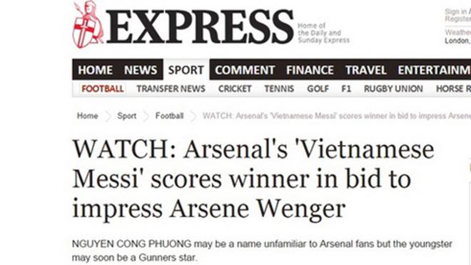 """Siêu phẩm bóng đá Việt Nam: Beckham, James Rodriguez cũng """"phải nể"""" 3"""