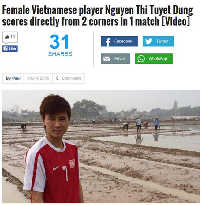 """Siêu phẩm bóng đá Việt Nam: Beckham, James Rodriguez cũng """"phải nể"""" 6"""