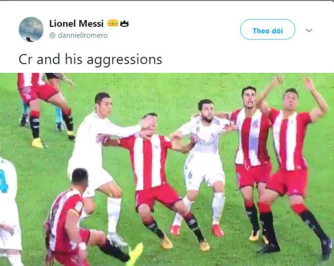 """Triệu fan Real """"đầu hàng"""" Barca, chê Ronaldo """"đá người giỏi hơn đá bóng"""" 8"""