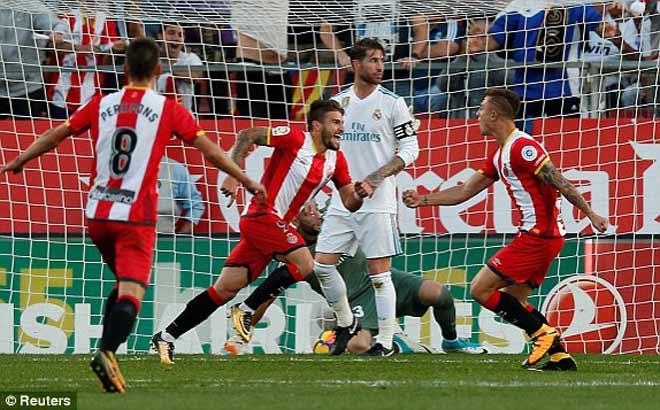 Girona - Real Madrid: Thảm họa hàng thủ, dính đòn cực nặng