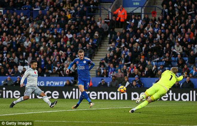 Leicester - Everton: Định đoạt bằng hai đòn chí tử 1