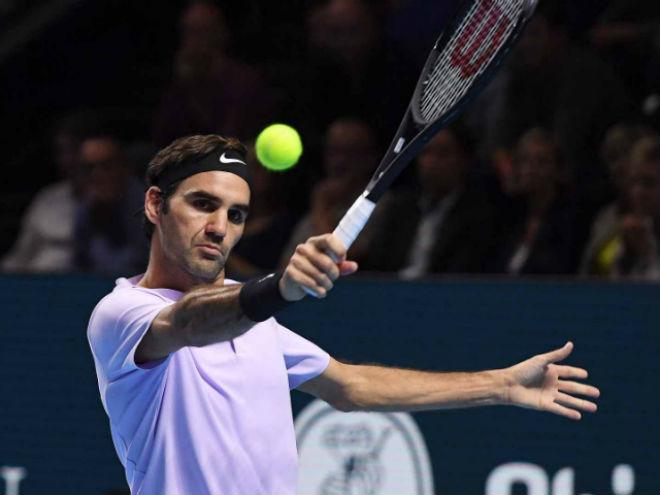 Federer - Del Potro: Nhà vua vĩ đại, ngược dòng đăng quang (chung kết Basel Open) 1