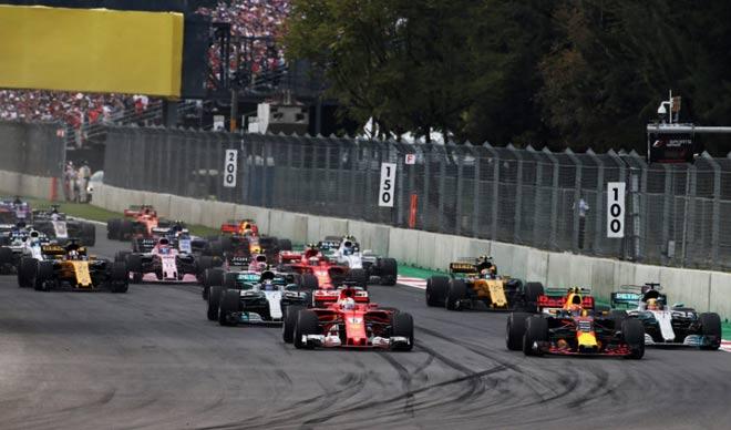 Đua xe F1, Mexican GP 2017: Cú va chạm thay đổi toàn bộ cuộc chiến 1