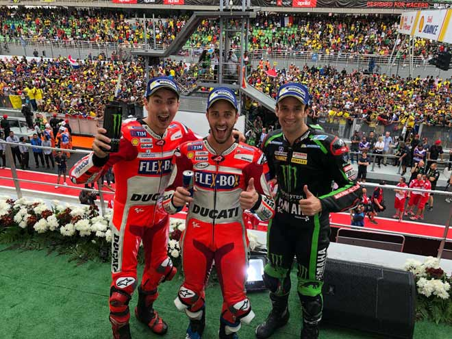 """Đua xe MotoGP: """"Anh trai mưa"""" và phép màu mong manh cho người Ý - 4"""