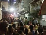 An ninh Xã hội - Dân Sài Gòn vây bắt kẻ đâm chết người trong đêm