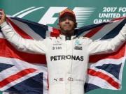"Bảng xếp hạng F1 - Mexican GP: Xin chào  "" vua đua xe ""  Hamilton"