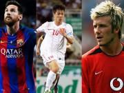 """Siêu phẩm bóng đá Việt Nam: Beckham, James Rodriguez cũng  """" phải nể """""""