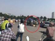 Tin tức trong ngày - Hà Nội: Chồng phanh gấp xe ba gác, vợ ngã xuống đường tử vong