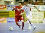 ĐT Việt Nam tưng bừng giành vé dự giải châu Á, hẹn Thái Lan chung kết (Futsal)