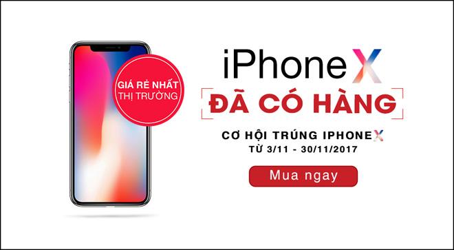 Bất chấp tin đồn iPhone X lên kệ tại Việt Nam đúng 3/11 - 3