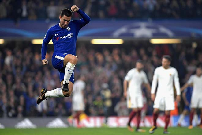 AS Roma - Chelsea: Conte lâm nguy, chờ Hazard - Morata cứu giá 2