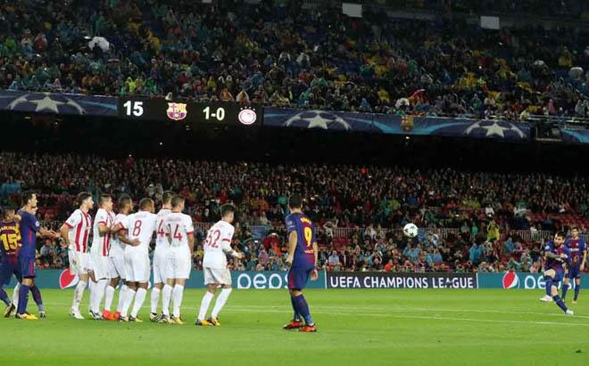 TRỰC TIẾP bóng đá Olympiakos - Barcelona: Quyết chiến ở xứ thần thoại - 3