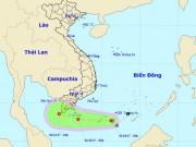 Tin tức trong ngày - Áp thấp nhiệt đới giật cấp 8, mưa dông kèm vòi rồng uy hiếp Nam Bộ