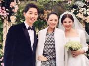 """Đời sống Showbiz - Chương Tử Di """"cân"""" cả dàn khách mời dự đám cưới thế kỷ Song Hye Kyo"""