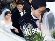 Phim - Song Joong Ki hôn say đắm Song Hye Kyo trong hôn lễ thế kỷ
