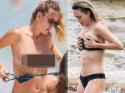 """Thời trang - Bóng hồng """"qua tay"""" Leonardo DiCaprio cởi dây áo tắm lộ liễu"""