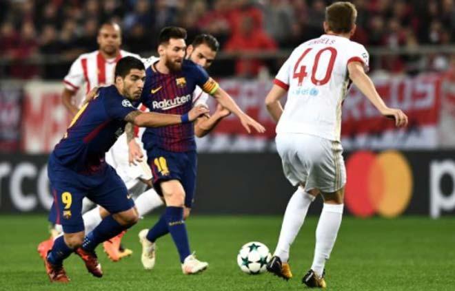 Olympiakos - Barcelona: Bắn phá dữ dội, siêu sao vô duyên