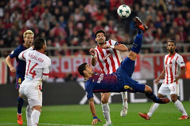 """Rực lửa cúp C1: Messi & Suarez mờ nhòa, Chelsea gây """"động đất"""" 9"""