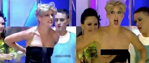 Tuột bikini khi dẫn chương trình, kết đắng của những nàng MC gợi cảm - 4