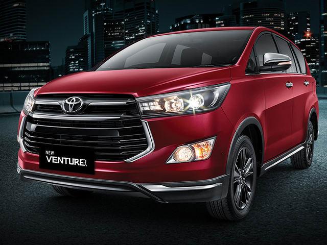 Toyota Innova Venturer về Việt Nam, giá 855 triệu đồng