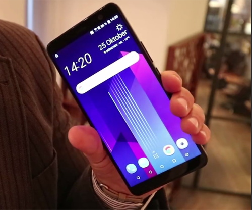 """Lộ ảnh thực tế của """"bộ đôi quyền lực"""" HTC U11 Plus và U11 Life - 4"""
