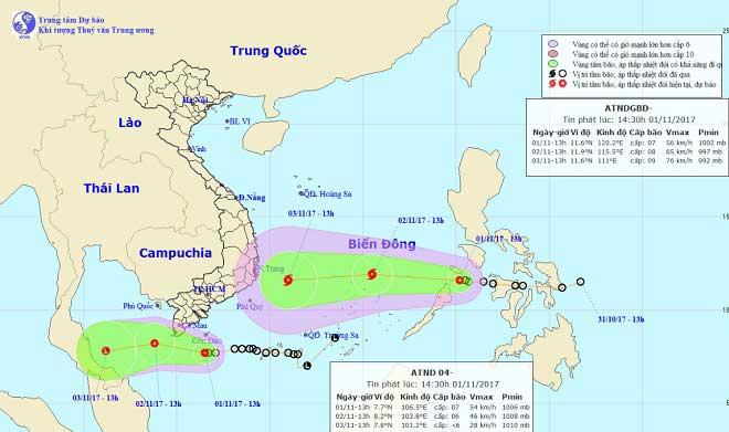 """Sợ thảm họa bão Linda lặp lại: Các tỉnh ĐBSCL cấm biển, """"căng mình"""" ứng phó với ATNĐ - 3"""