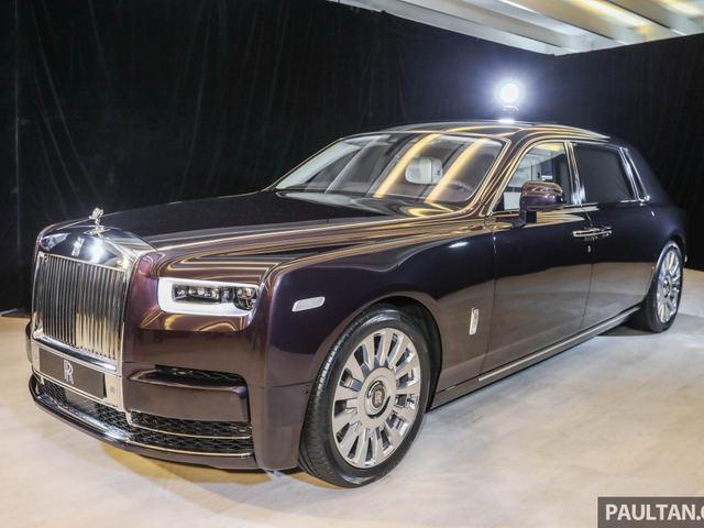 Rolls-Royce Phantom 2018 giá 12 tỷ đồng ở châu Á - 1