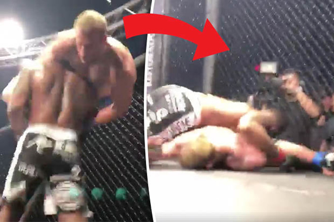 MMA: Khiến đối thủ chấn thương đáng sợ, mặt vẫn lạnh như tiền 1