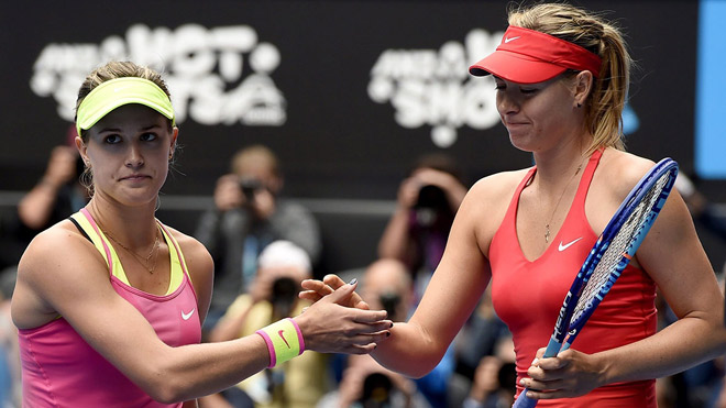 """Mỹ nhân tennis 2017, Sharapova: Đạp lên bão tố, """"gây sự"""" cả thế giới"""