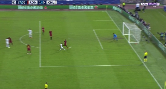 """Chi tiết AS Roma - Chelsea: Tan nát """"The Blues"""" (KT) 19"""