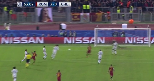 """Chi tiết AS Roma - Chelsea: Tan nát """"The Blues"""" (KT) 25"""