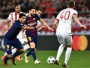 Bóng đá - Olympiakos - Barcelona: Bắn phá dữ dội, siêu sao vô duyên