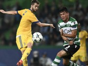 Sporting Lisbon - Juventus: Ra chân tinh tế, thoát hiểm gang tấc