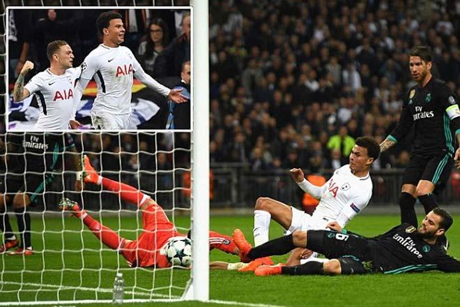 """Góc chiến thuật Tottenham - Real Madrid: Cô lập Ronaldo, đôi cánh """"sát thủ"""" 1"""