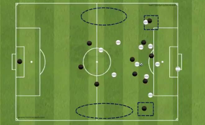"""Góc chiến thuật Tottenham - Real Madrid: Cô lập Ronaldo, đôi cánh """"sát thủ"""" - 7"""