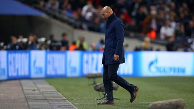 """Real đổ đèo: """"Vị thần"""" Zidane bất lực, hóa người trần mắt thịt - 1"""