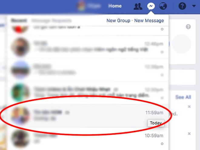 3 bước tìm lại mọi tập tin và hình ảnh đã gửi qua Facebook Messenger - 2