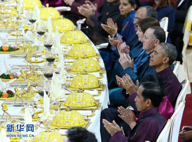 Cận cảnh đại yến tiệc APEC hoành tráng chưa từng có - 1