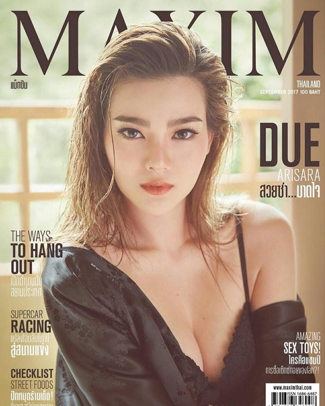 """Thiên thần sexy nhất Thái Lan khiến tạp chí Maxim """"cháy hàng"""" - 4"""