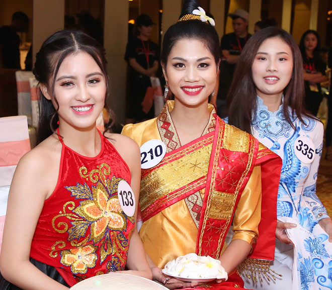 Màn múa đầy mê hoặc tại Hoa hậu Hoàn vũ Việt Nam - 7